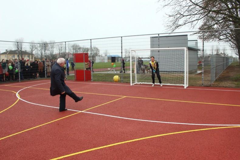 5 ноября 2018 года. Открытие обновленных детского сада и стадиона